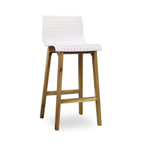 Bohemio Furniture Online Store - Rumba Kitchen Stool (White)