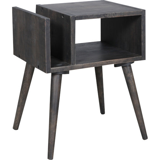 Scania Side Table Black Wash