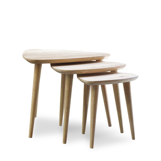 Bohemio Furniture Online Store - Scania Nest of 3 Stools