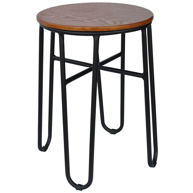 Skaf Dining Stool (Black Gloss)