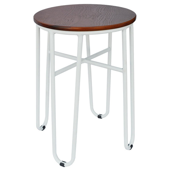 Skaf Dining Stool (White Gloss)