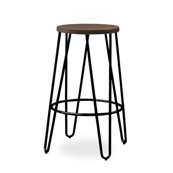 Bohemio Furniture Online Store - Skaf Kitchen Stool (Black)