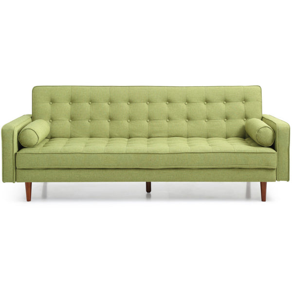 Sofia Sofa Bed Click Clack in Leaf (Green)