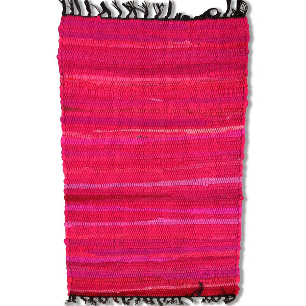 Cotton Chindi Pink Tonal Mat 50 x 80 cm