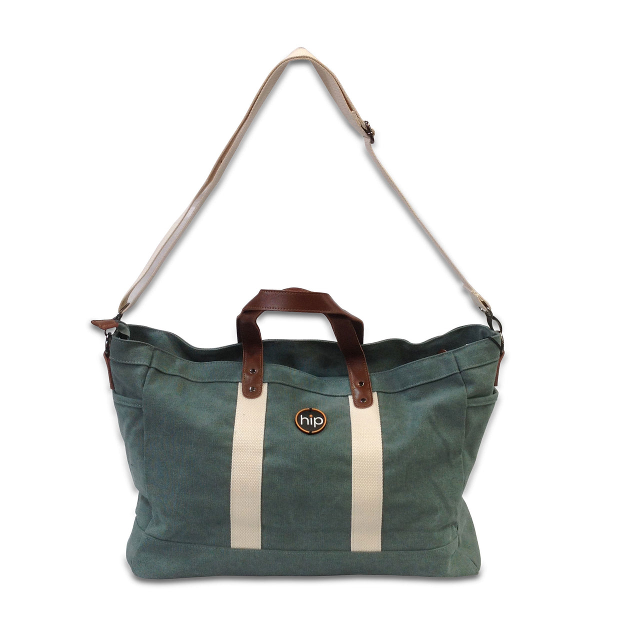 Tote Travel Canvas Light Green Bag