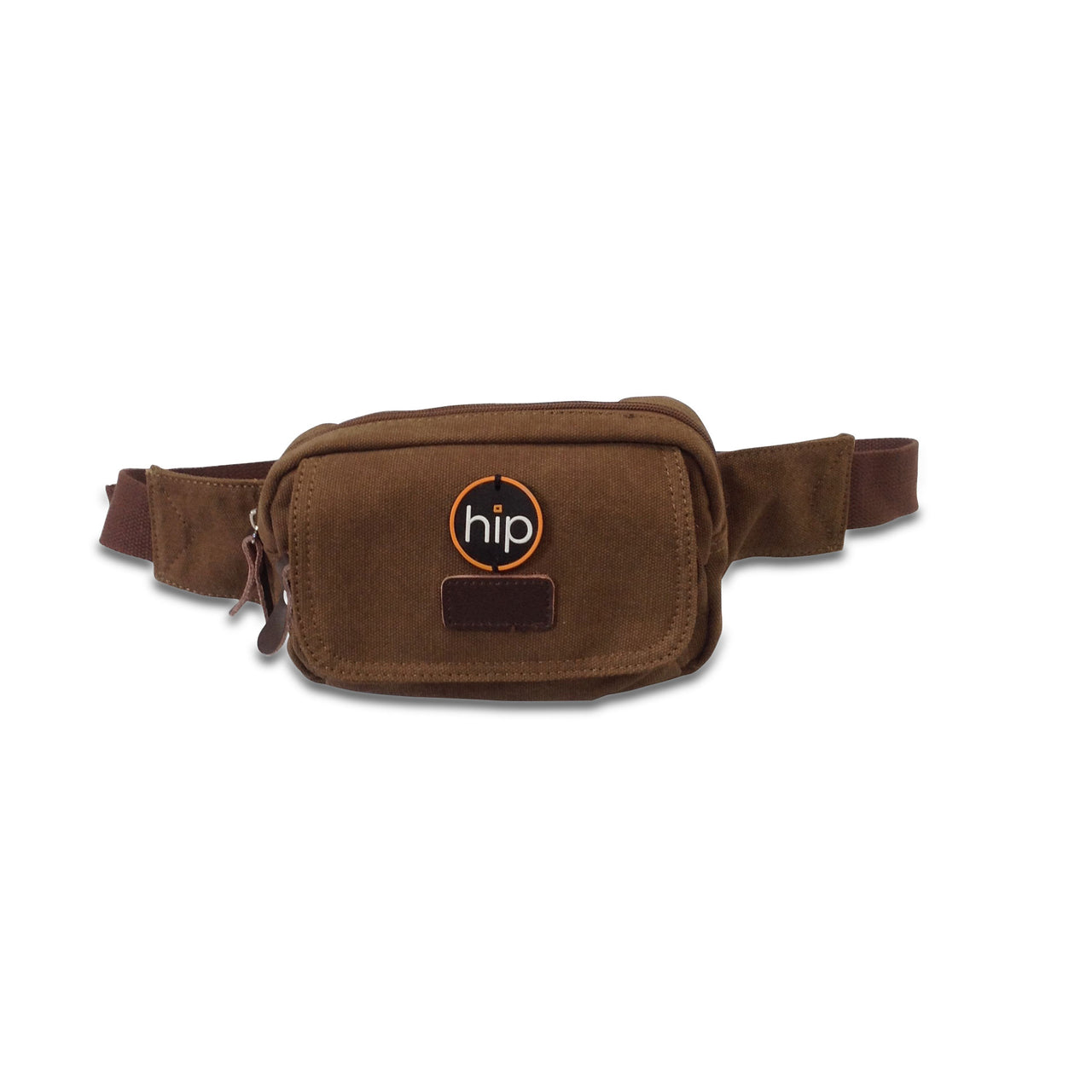 Canvas Bum Bag Brown