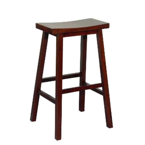Naz Counter Barstool - Walnut