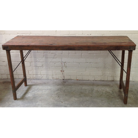 Vintage Counter Banquet Table