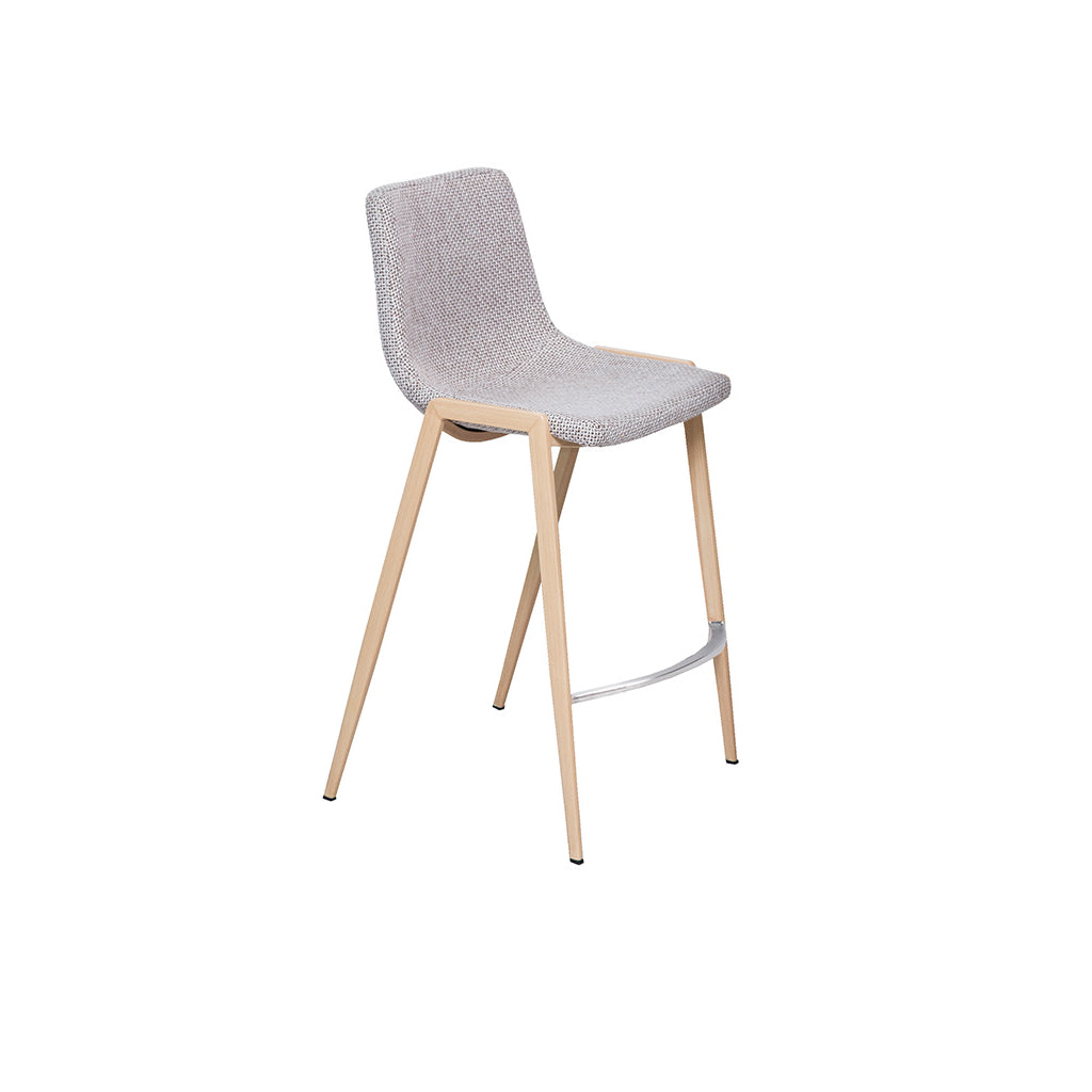 Hudson Counter Bar Stool (Beige Fabric)