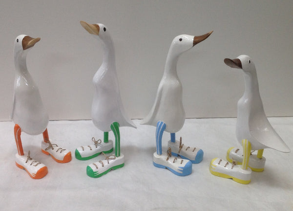 Sporty Wooden Ducks