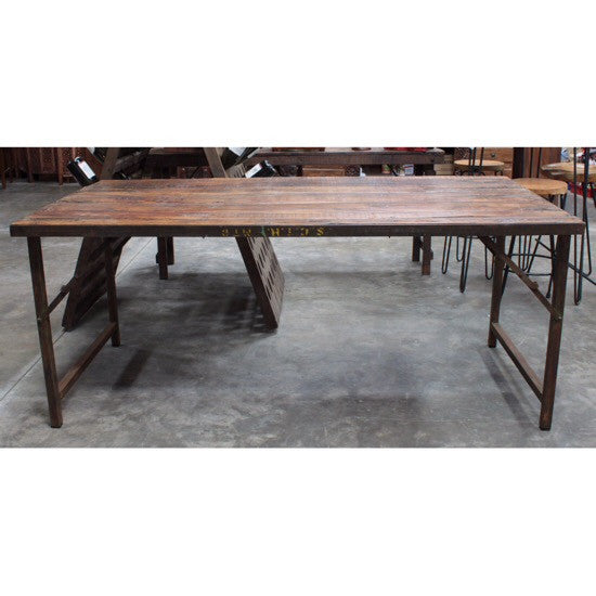 Vintage Banquet Dining Table