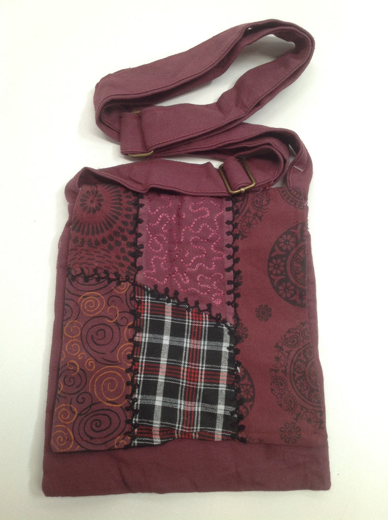 Passport Festival Bag (Maroon)