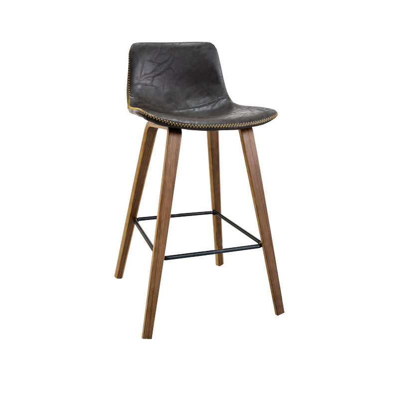 Levy Counter Bar Stool (Black / Charcoal)