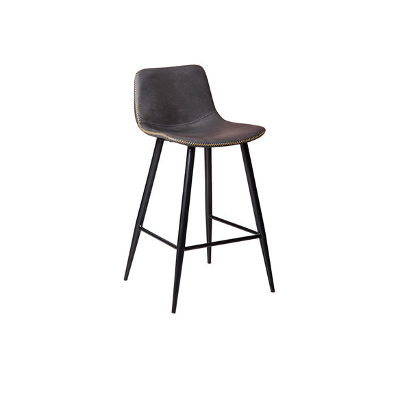 Mandy Counter Bar Stool (Charcoal)