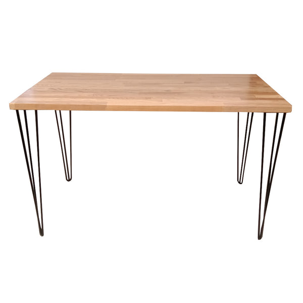Skaf Natural Top Dining Table 120 x 60