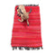 Cotton Chindi Red Tonal Rug Mat 50 x 80 cm