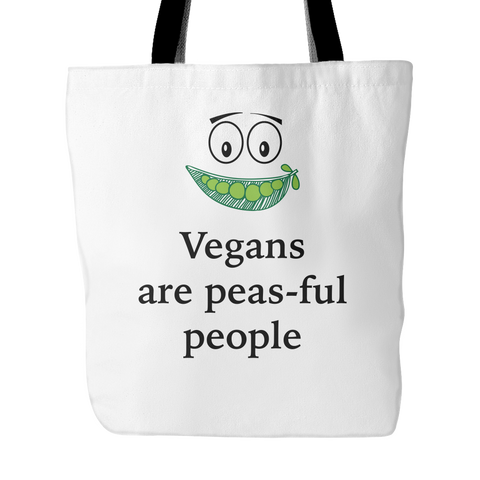 Vegans Are Peas-Ful People