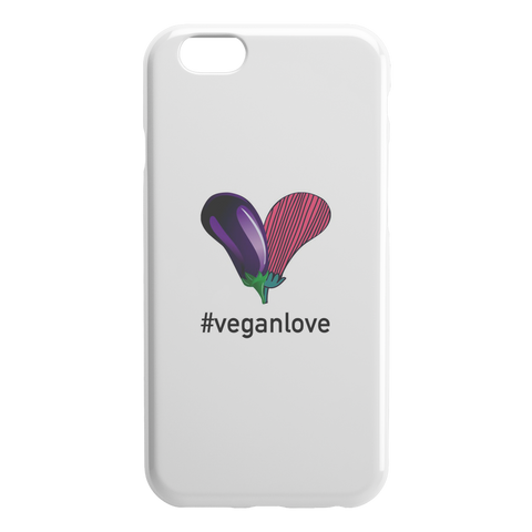 #veganlove iPhone Slim or Tough Case