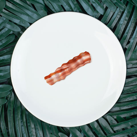 "Breakfast Bacon 10"" Dinner Plate"