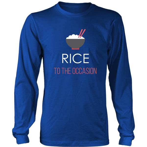 Rice To The Occasion