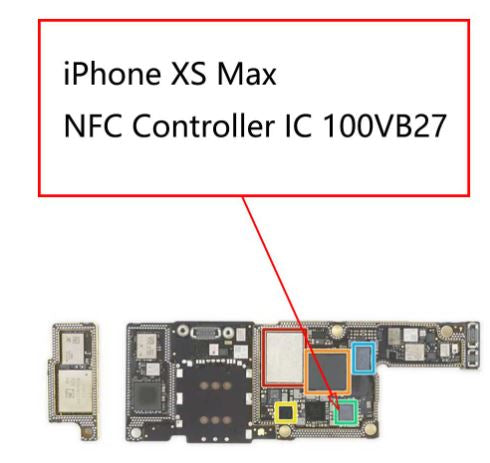NFC Controller IC 100VB27 72Pin For iPhone XS / XS Max / XR