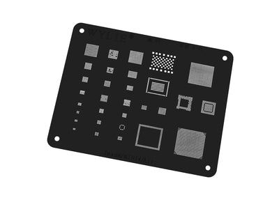 WYLIE Black BGA Reballing Stencil for iPhone (Select Version)