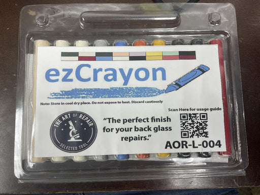 ezCrayon Backglass Finishing Wax Starter Kit