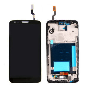 LG G2 Display Assembly with Frame - Black