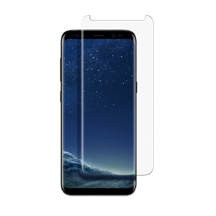NuGlas Tempered Glass Screen Protector for Galaxy S8 Plus (3-D Curve)