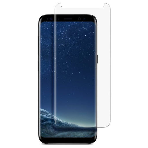 NuGlas Tempered Glass Screen Protector for Galaxy S8 (3-D Curve)