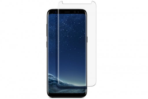 NuGlas Tempered Glass Screen Protector for Galaxy S9 Plus (3-D Curve)