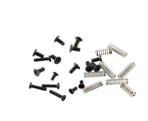 Complete Screws and Key Button Springs Set for switch Joycon Left
