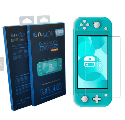 Nuglas Nintendo Switch Lite Tempered Glass Screen Protector - Ships from USA