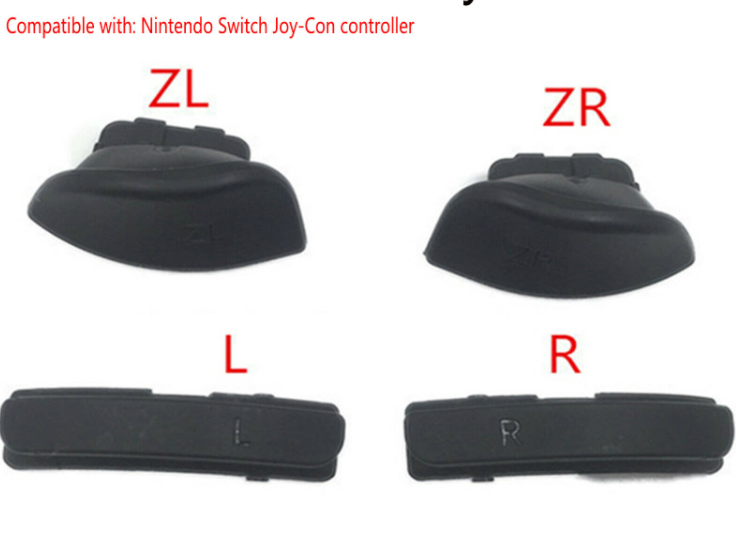 Shoulder L R ZL ZR Buttons Set for NS Switch Joy-con Controller