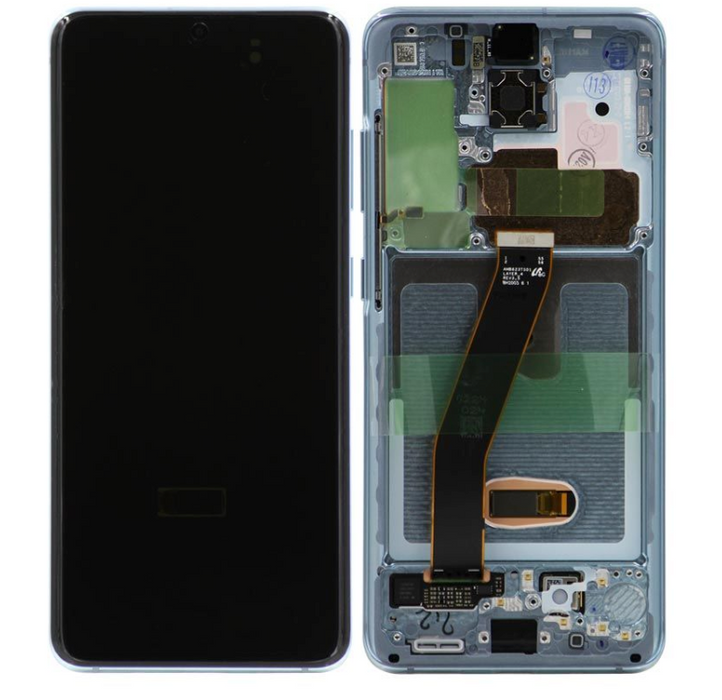Samsung Galaxy S20 Display Assembly, Cosmic Grey (All Carriers except Verizon)
