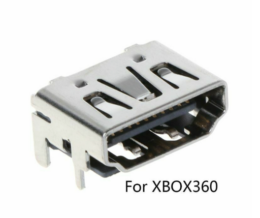 Replacement HDTV HDMI Connector Port for XBOX 360 Slim and XBOX 360 E (Pulled)