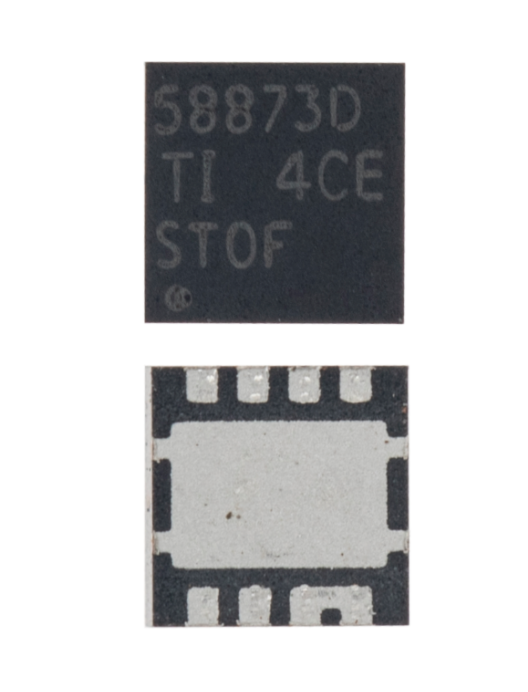 Synchronous Buck NexFET™ Power Block MOSFET Pair Controllers IC Compatible For MacBooks (CSD58873Q3D / CSD58873D / 58873D, QFN-8 Pin)