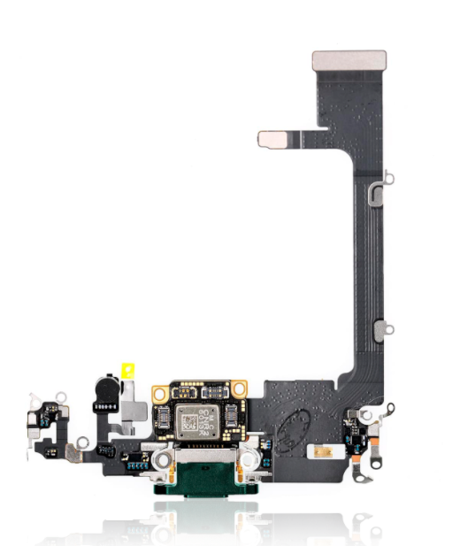 Charging Port Flex Cable with Board Compatible for iPhone 11 Pro (Premium)