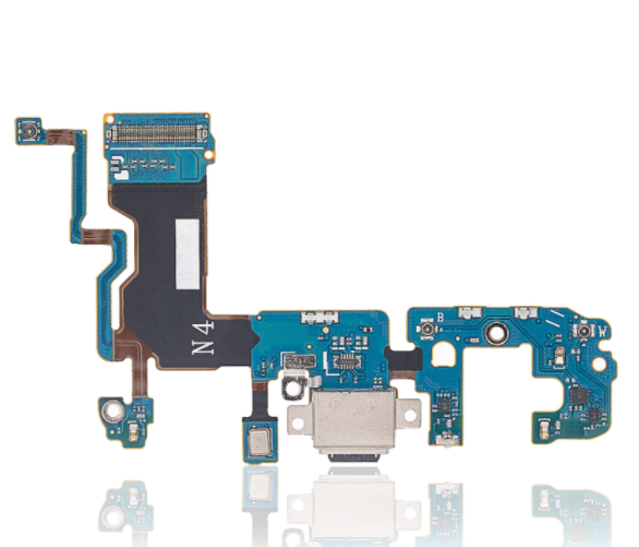 Charging Port with Flex Cable Compatible For Samsung Galaxy S9 Plus (G965U) (US Version)
