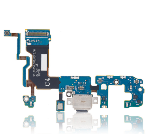 Charging Port with Flex Cable Compatible For Samsung Galaxy S9 Plus (G9650) (Dual Sim Version)