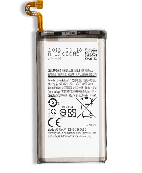 Battery for Galaxy S9 (New Zero-Cycle)
