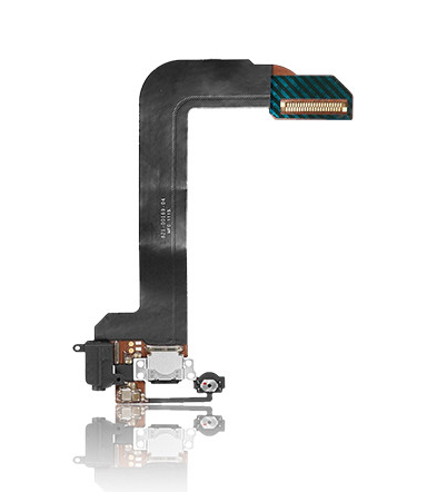 Headphone Jack with Charging Port Flex Cable For iPod Touch 6 (Black)