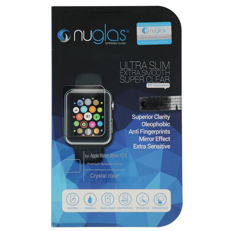 Nuglas Apple Watch 44mm - Full cover - Retail