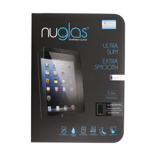 NuGlas Tempered Glass Screen Protector for iPad Air/Air 2/iPad 2017