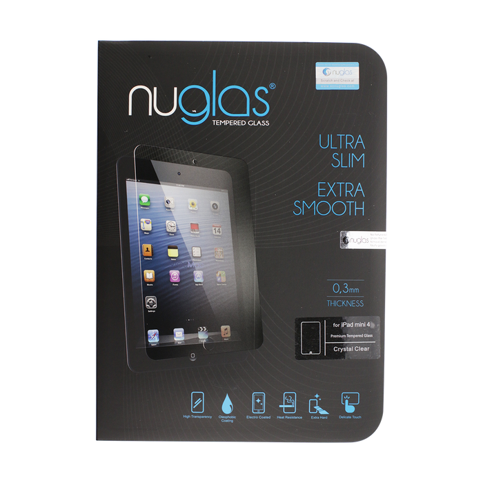 NuGlas Tempered Glass Screen Protector for iPad Air/Air 2/iPad 5 (2017) /iPad 6 (2018) /Pro 9.7