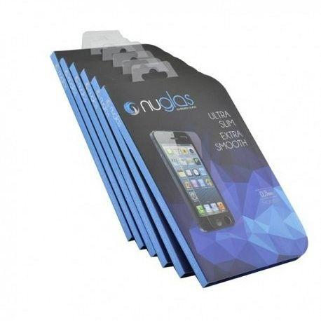 NuGlas Tempered Glass Screen Protector for iPhone 5/5c/5s/SE - Retail Package