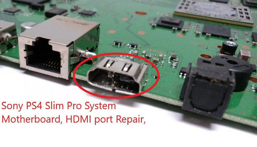 Playstation 4 HDMI Port Repair Service