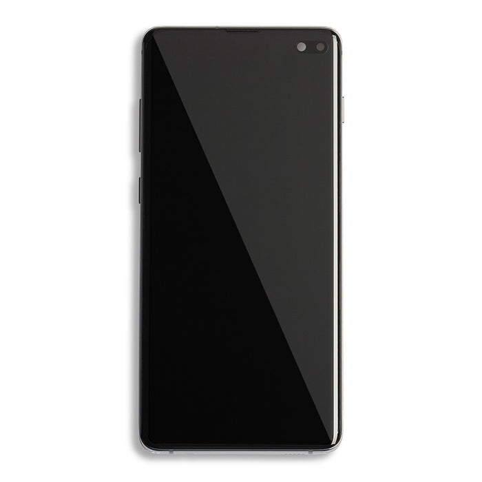 Galaxy S10 plus (SM-G975) Display w/ Frame - Prism Black