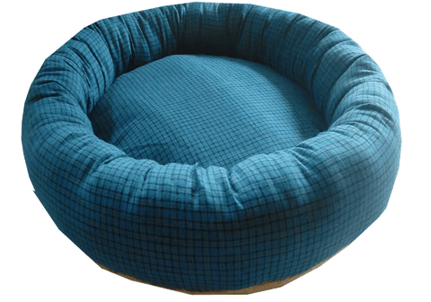 Kiwi Wool Sausage Bed Medium