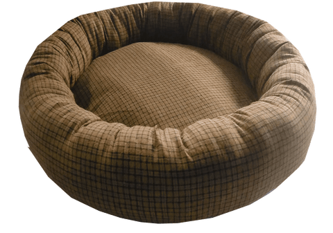 Kiwi Wool Sausage Bed Large